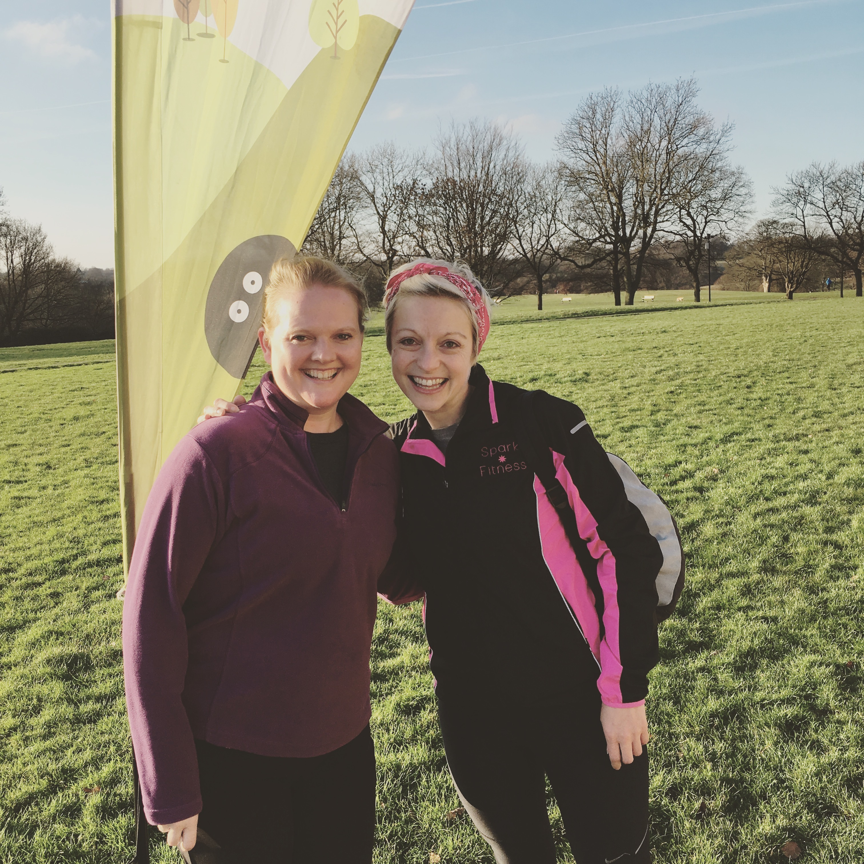Katie & Maggie at Park Run