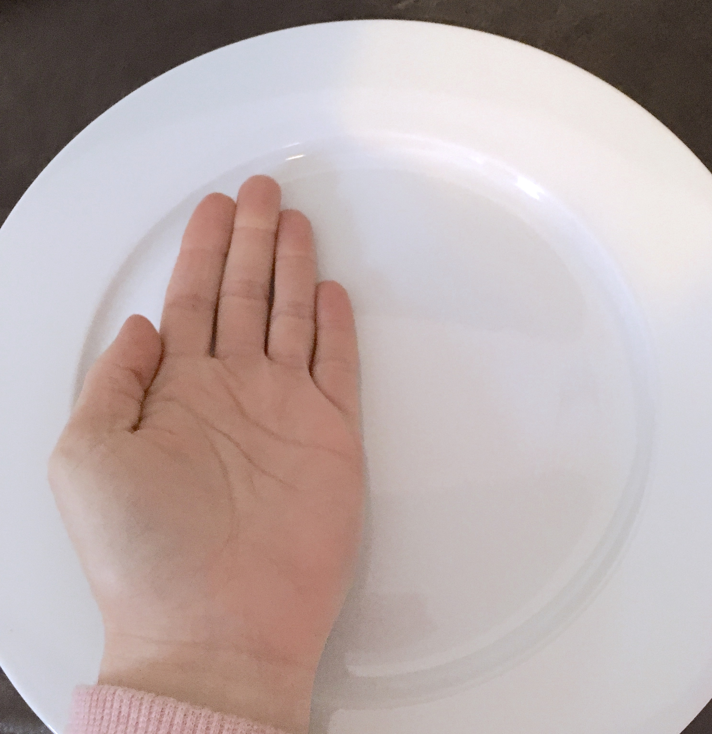 palm of protein
