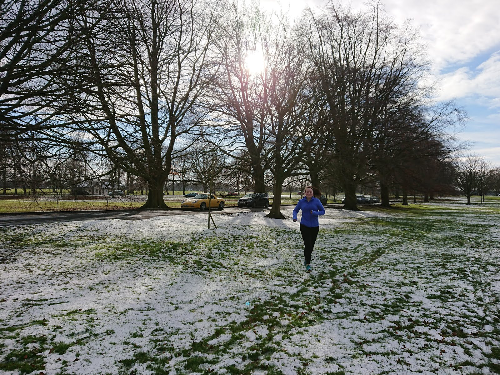 Sarah frosty running