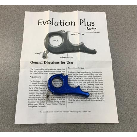 Carter Evo release aid Blue Image 1