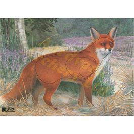 JVD Animal Target Face - Fox thumbnail