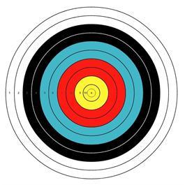 Arrowhead Target Face - 80cm thumbnail