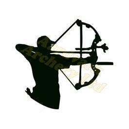 Arctec Archery Sticker - Compound thumbnail