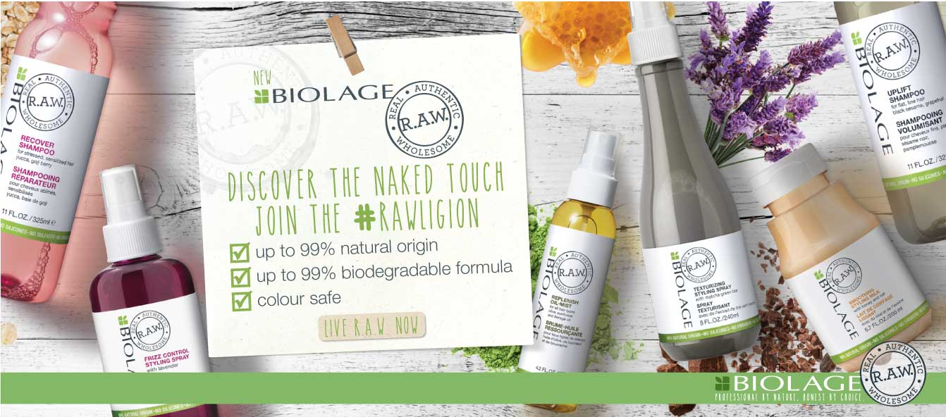 Discover the Biolage RAW range now
