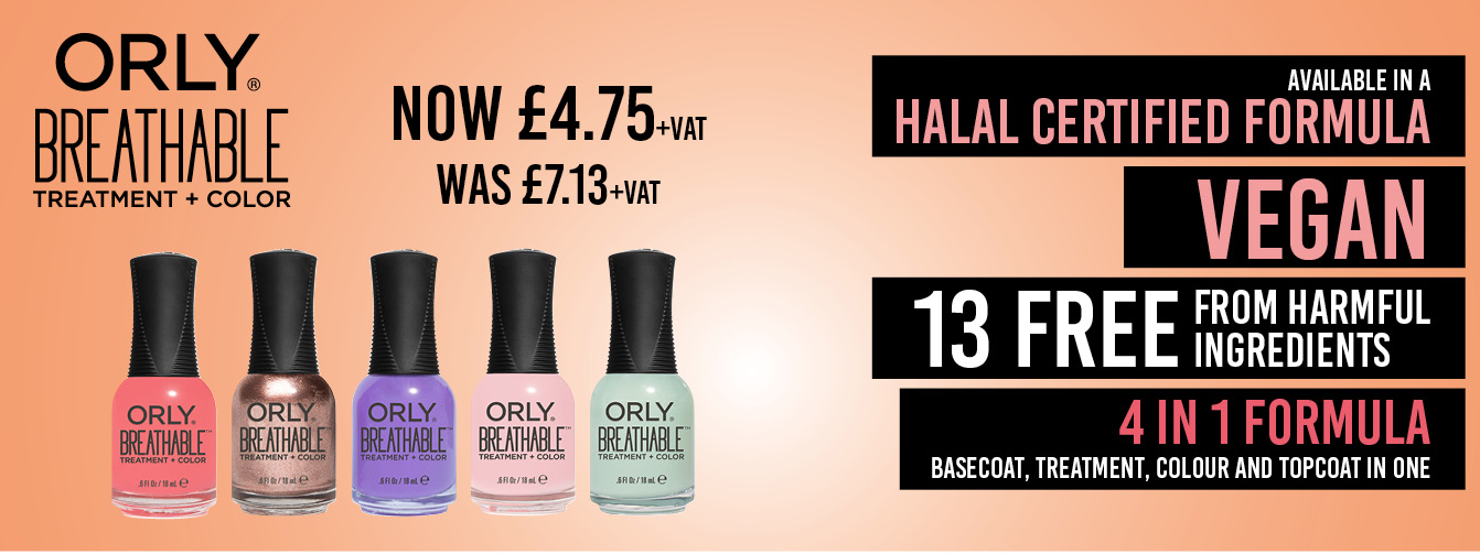 Orly Breathable 4-in-1 Treatment & Colour