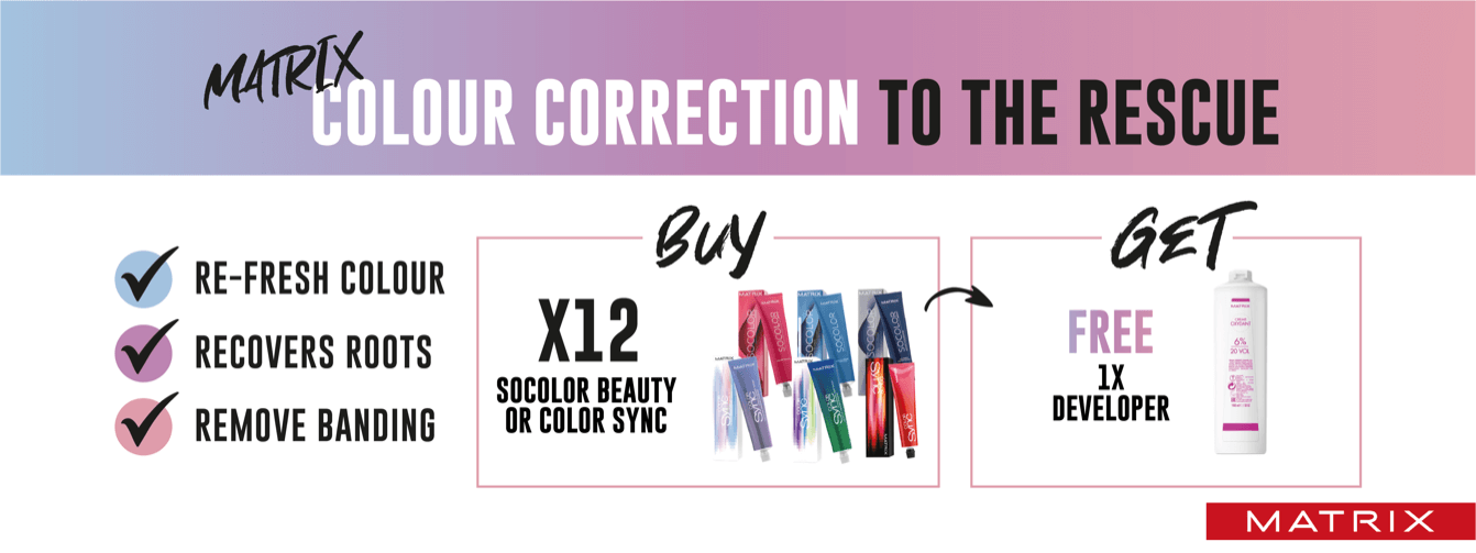 Matrix Colour Correction Offer