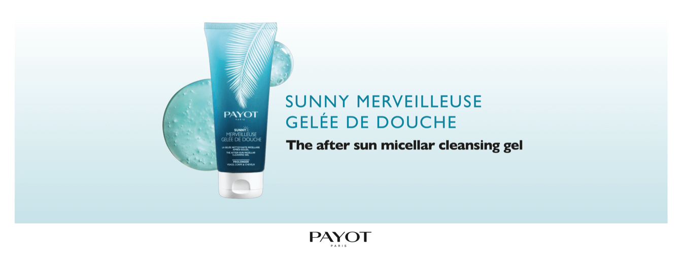 New Payot Sunny After Sun Micellar Cleansing Gel