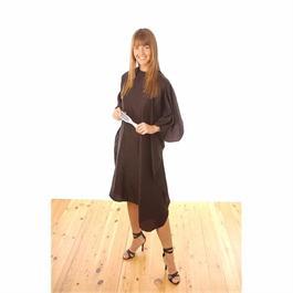 Black Nylon Economy Gown thumbnail