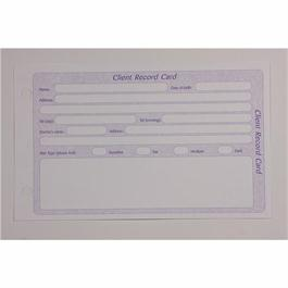General Client Record Cards (Drilled) thumbnail