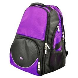 Roo Ruby Rucksack & 3 Storage Pouches Purple thumbnail
