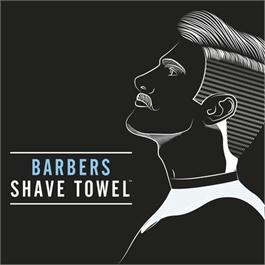 Barber Pro Shave Towels (4pk) BLK thumbnail