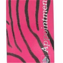 Appointment Books Pink & Black Zebra Design 3 Assistant thumbnail