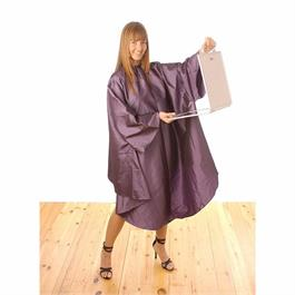 Hair Tools Gown with Sleeves Mauve thumbnail