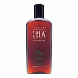 CREW 3 IN 1 TEA TREE SHAMPOO 450ml thumbnail