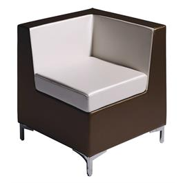 Angle Corner Waiting Chair by Salon Ambience thumbnail