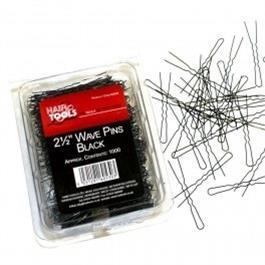 """2.5"""" Waved Pins Black 1000's thumbnail"""