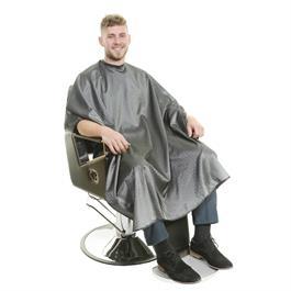 Executive Barbers Cape Grey  Stud Fasten thumbnail