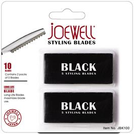 #D Joewell Black Styling Razor Blades thumbnail