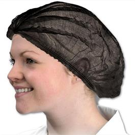 Disposable Hair Cap Black 100 pack thumbnail
