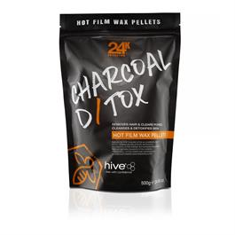 Hive Charcoal Detox  Wax Pellets 500g thumbnail