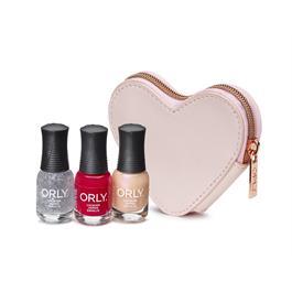 Orly Ballet Pink Heart Purse thumbnail