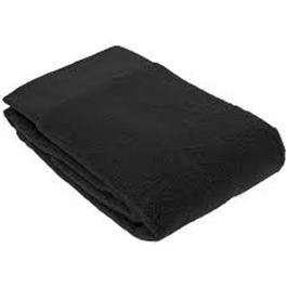 HG Bleach Resistant Towel Black 12pk thumbnail
