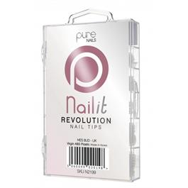 Pure Nails Revolution Tips Mixed 100's thumbnail