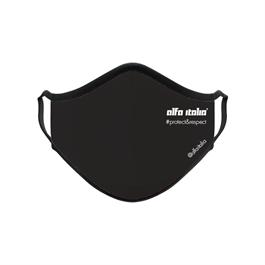 Black Reusable Protective Face Mask - Alfa Italia thumbnail