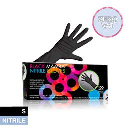 Black Mamba Nitrile Gloves Small thumbnail