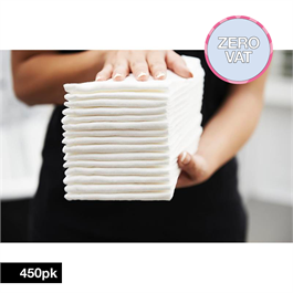 Easydry Premium White Towel 450 Bulk pack thumbnail