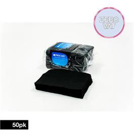 Procare Disposable Black Towels 50 pk thumbnail