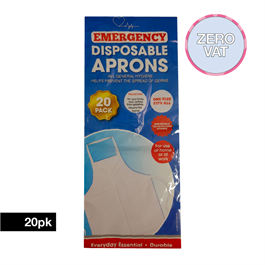 Disposable Apron Clear 20 Pack thumbnail