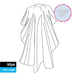 Disposable Full Length Gown 50 Pack thumbnail