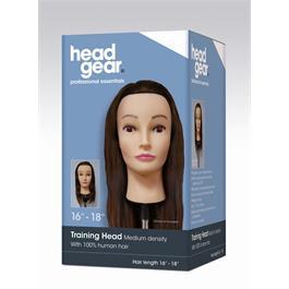 Training Head 16-18 Human Hair thumbnail