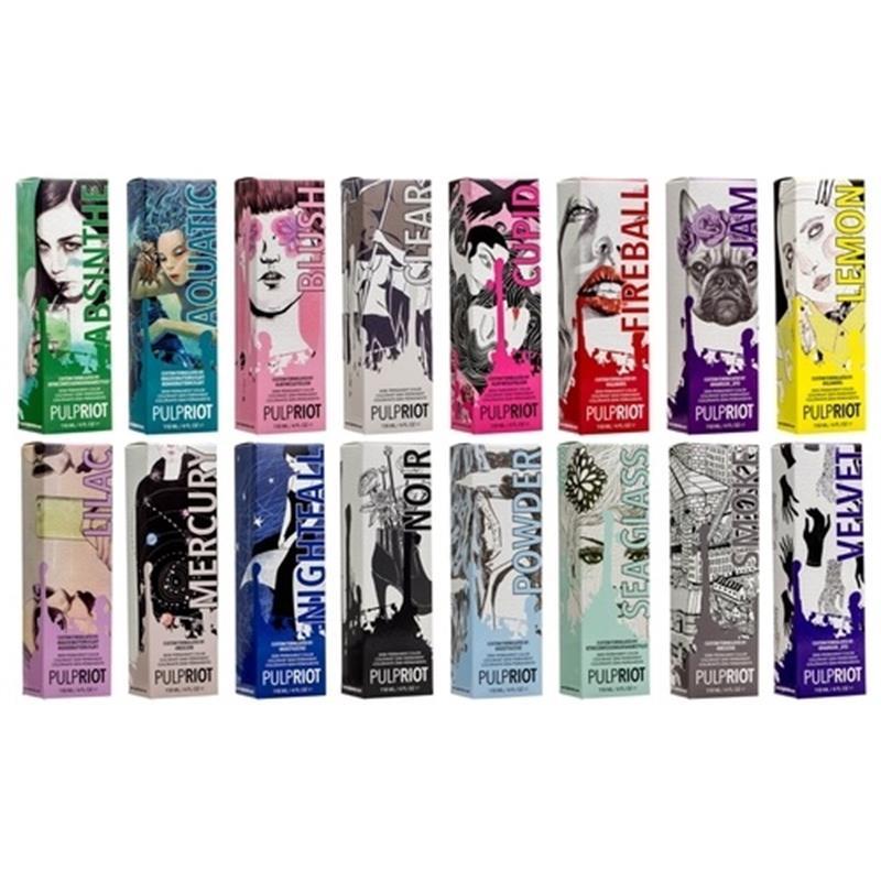Pulp Riot Semi Permanent Hair Colour Image 1