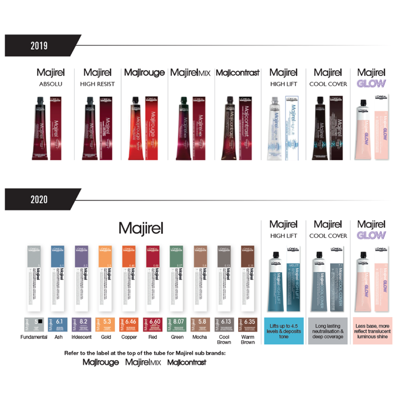 Majirel Hair Colour 50ml - L'Oréal Professionnel Thumbnail Image 1