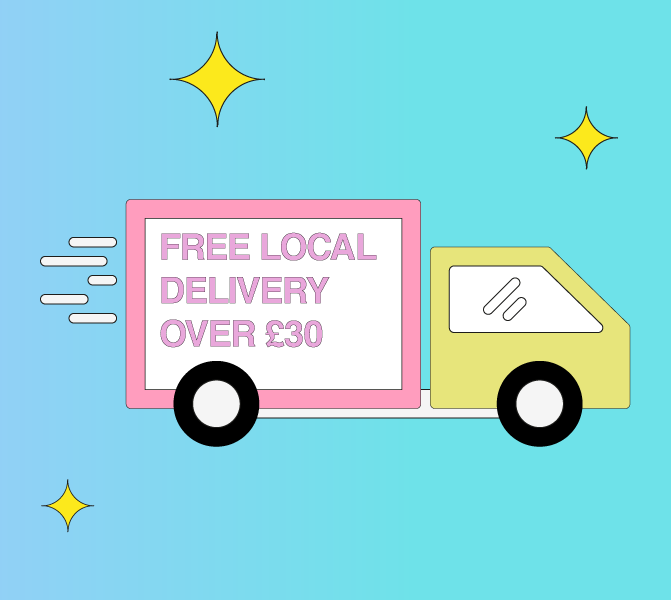 Local Delivery - Free over £30
