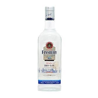 Finsbury Platinum Dry Gin 47% 70cl thumbnail