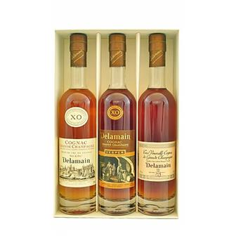 Delamain Trio of Cognac 40% 3x20cl thumbnail
