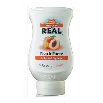 Real Peach Puree 500ml thumbnail