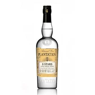 Plantation 3 Stars White Rum 41.2% 70cl thumbnail