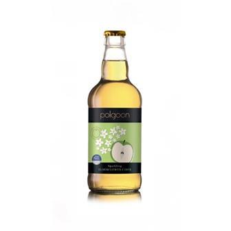 Polgoon Cornish Elderflower Cider 500ml thumbnail