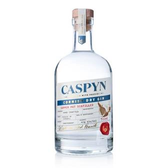 Caspyn Cornish Dry Gin 40% 70cl thumbnail