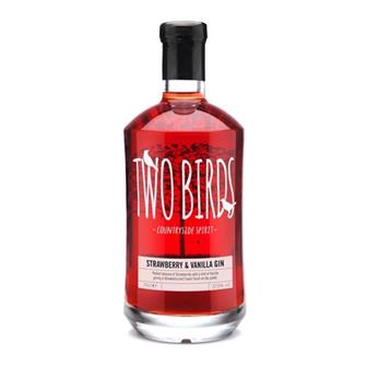 Two Birds Strawberry & Vanilla Gin  37.5% 70cl thumbnail