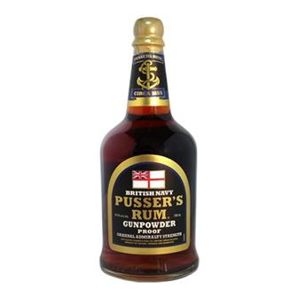 Pussers Gunpowder Proof Rum 54.5% 70cl thumbnail