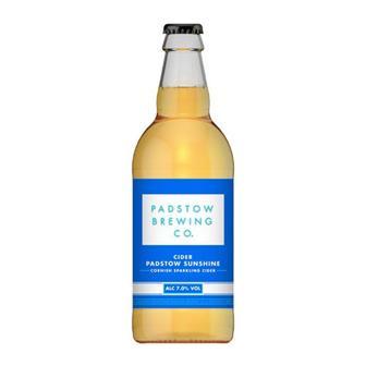 Padstow Sunshine Cider 7% 568ml thumbnail