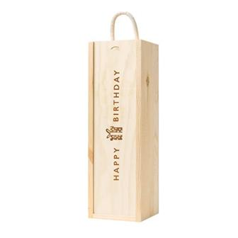 Happy Birthday Lid Wooden Gift Box thumbnail