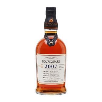 Foursquare 2007 Cask Strength Rum 59% 70cl thumbnail