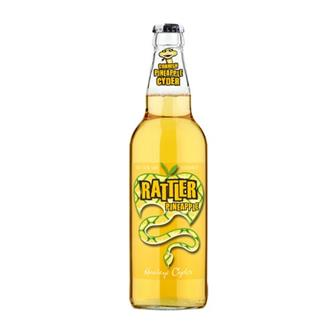 Healeys Rattler Pineapple Cornish Cider 500ml thumbnail