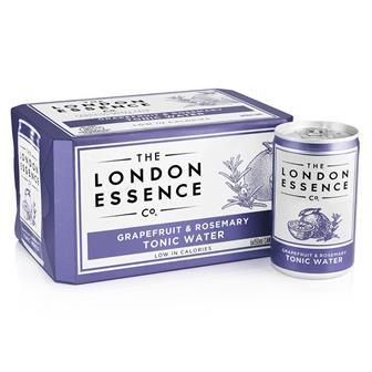 London Essence Grapefruit & Rosemary Tonic Water Cans 6 x 150ml thumbnail